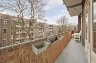 Balkon over volle breedte